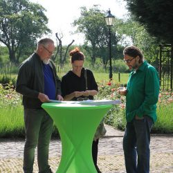Initiatiefnemers van Land van Es nemen deel aan het Dorpenlab Hoekse Waard
